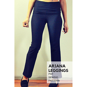 DG Patterns Ariana Leggings Sewing Pattern