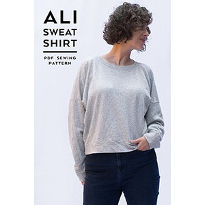 Sew DIY Ali Sweatshirt Sewing Pattern