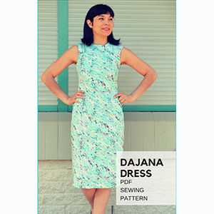 DG Patterns Dajana Dress Sewing Pattern