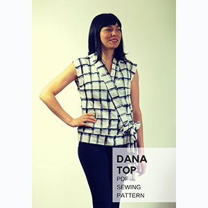 DG Patterns Dana Top Sewing Pattern
