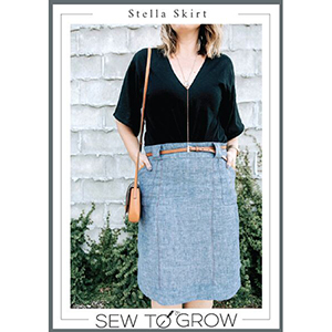 Sew To Grow Stella Skirt Sewing Pattern