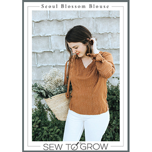 Sew To Grow Seoul Blouse Sewing Pattern
