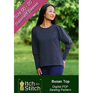 Itch to Stitch Busan Top Sewing Pattern