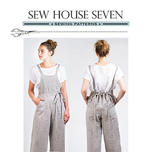 Sew House Seven Burnside Bibs Sewing Pattern
