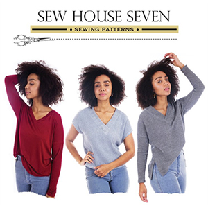Sew House Seven Tabor V-Neck Sewing Pattern