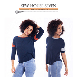 Sew House Seven Merlo Field Tee Sewing Pattern