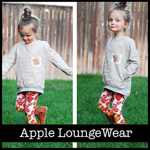 Shwin Designs Apple LoungeWear Sewing Pattern