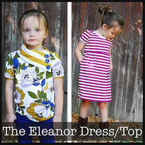 Shwin Designs The Eleanor Dress/Top Sewing Pattern