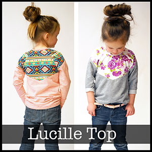 Shwin Designs Lucille Top Sewing Pattern