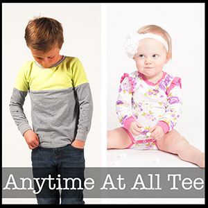 Shwin Designs Anytime At All Tee Sewing Pattern