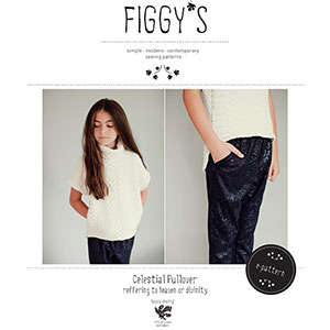 Figgy\'s Celestial Pullover 18M to 9 Sewing Pattern