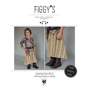 Figgy\'s Celestial Maxi Skirt Sewing Pattern