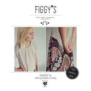 Figgy\'s Celestial Tee Sewing Pattern