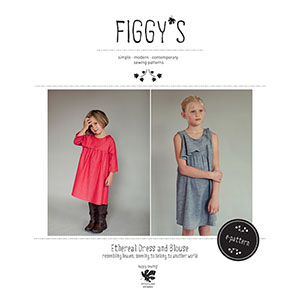 Figgy\'s Ethereal Dress and Blouse Sewing Pattern
