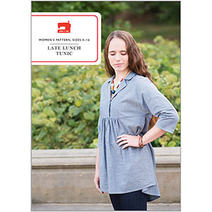 Liesl + Co. Late Lunch Tunic Sewing Pattern