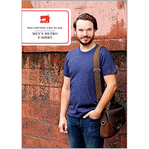 Liesl + Co. Men\'s Metro T-shirt Sewing Pattern