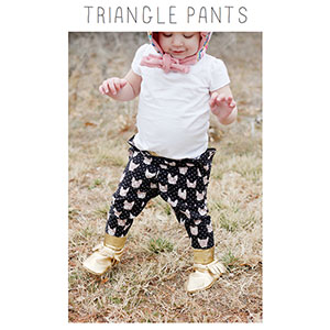 See Kate Sew Triangle Pants Sewing Pattern