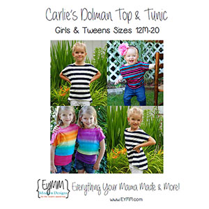 EYMM Carlie\'s Dolman Top & Tunic Sewing Pattern