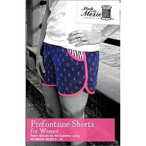 Made With Moxie Prefontaine Shorts for Women Sewing Pattern