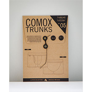 Thread Theory Designs Comox Trunks Sewing Pattern