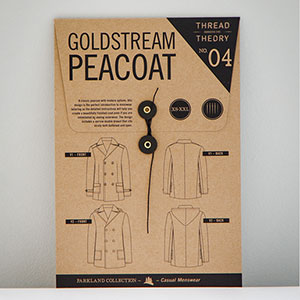 Thread Theory Designs Goldstream Peacoat Sewing Pattern