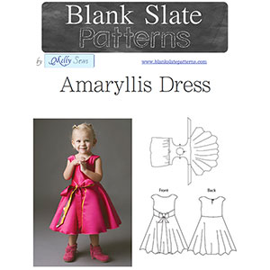 Blank Slate Patterns Amaryllis Dress Sewing Pattern