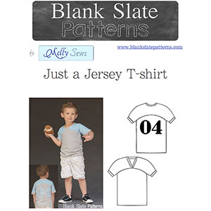 Blank Slate Patterns Just A Jersey T-Shirt Sewing Pattern