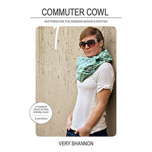 Very Shannon Commuter Cowl Sewing Pattern