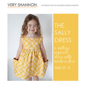 Very Shannon Sally Dress Sewing Pattern