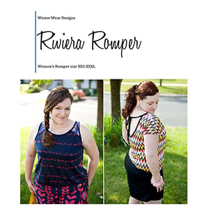Winter Wear Designs Riviera Romper Sewing Pattern