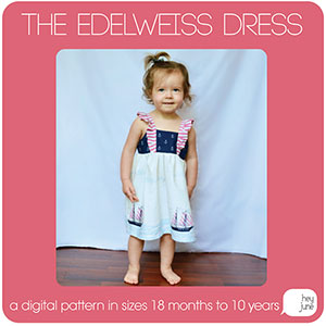 Hey June Edelweiss Dress Sewing Pattern