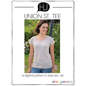 Hey June Union St. Tee Sewing Pattern