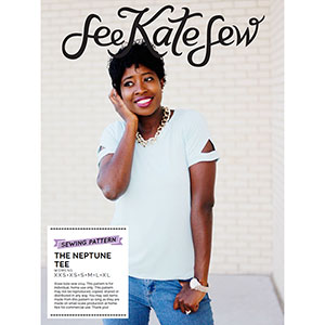 See Kate Sew Neptune Tee Sewing Pattern