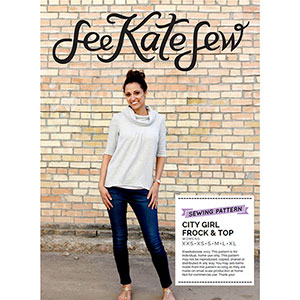 See Kate Sew City Girl Frock & Top Sewing Pattern