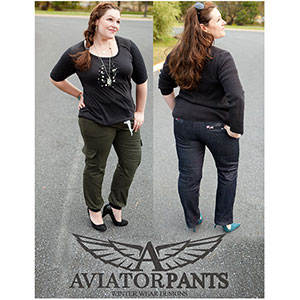 Winter Wear Designs Women\'s Aviator Pants Sewing Pattern