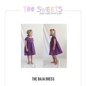 Too Sweets Baja Dress Sewing Pattern