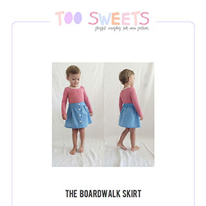Too Sweets Boardwalk Skirt Sewing Pattern