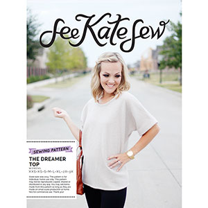 See Kate Sew Dreamer Top Sewing Pattern