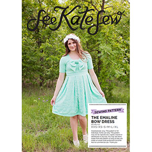 See Kate Sew Emaline Bow Dress + Top Sewing Pattern