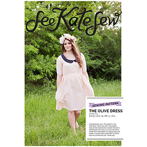 See Kate Sew Olive Dress Sewing Pattern
