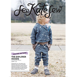 See Kate Sew Explorer Hoodie Sewing Pattern