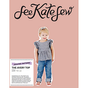 See Kate Sew Avery Top Sewing Pattern
