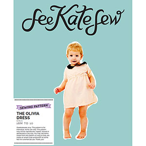 See Kate Sew Olivia Dress Sewing Pattern