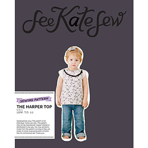 See Kate Sew Harper Top Sewing Pattern