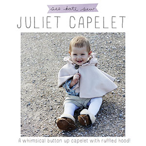 See Kate Sew Juliet Capelet Sewing Pattern