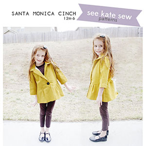 See Kate Sew Santa Monica Cinch Sewing Pattern
