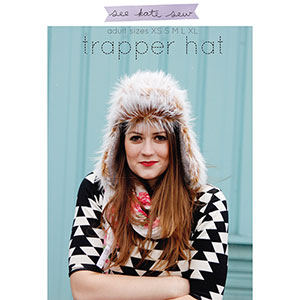 See Kate Sew Trapper Hat Sewing Pattern