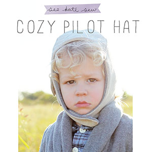 See Kate Sew Cozy Pilot Hat Sewing Pattern