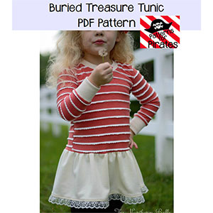 Patterns for Pirates Buried Treasure Tunic Sewing Pattern