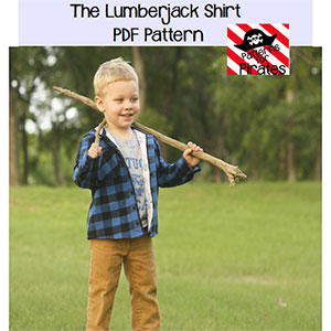 Patterns for Pirates Lumberjack Shirt Sewing Pattern